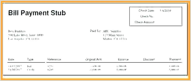 Awesome Pay Stub Template Excel Elegant Check 1099 Misc Form