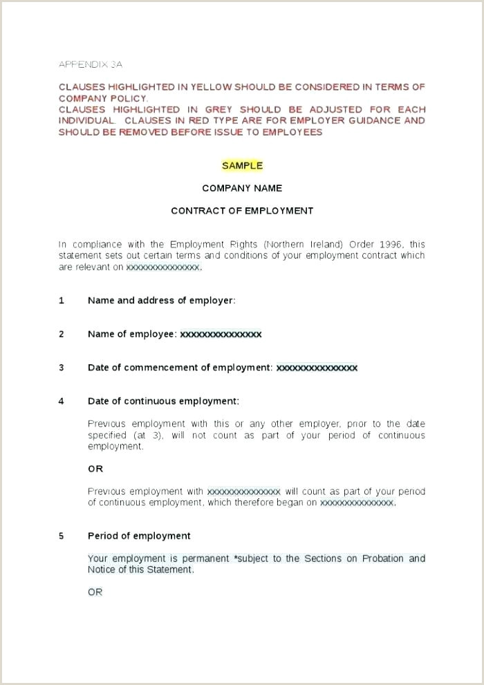 Employee Contract Template Form Doc Free Free 1099