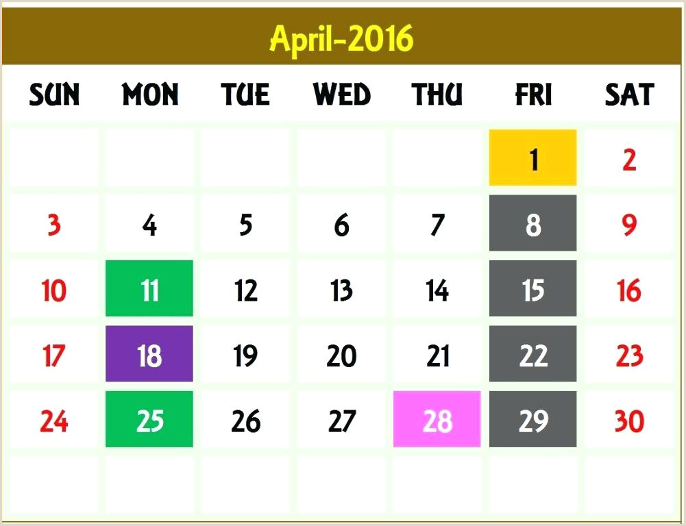 Biweekly Payroll Calendar Template Bi Weekly 2 Payroll
