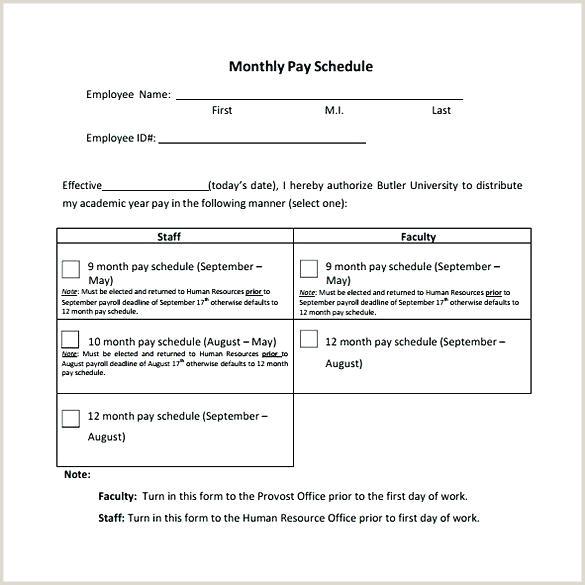 Payment Schedule Template Pay 2018 Biweekly Payroll Calendar