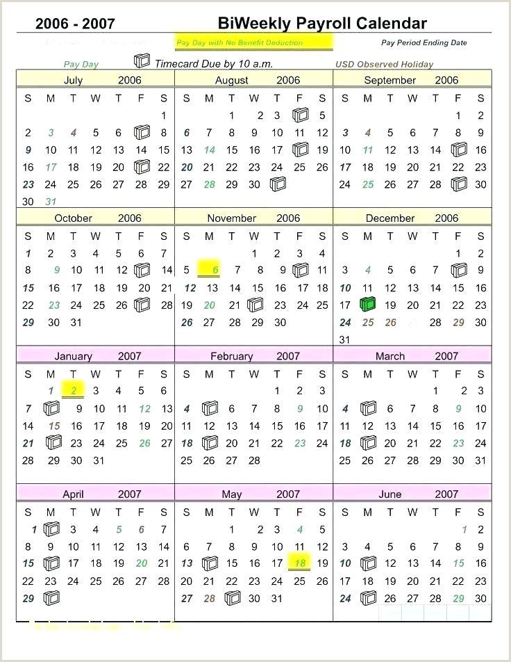 2018 Biweekly Payroll Calendar Excel Payroll Calendar Template for Excel 2019 – Innovanza