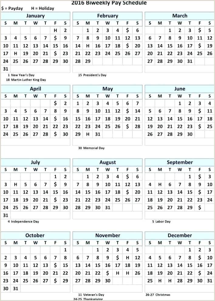 Bi Weekly Calendar Template Bi Weekly Calendar Template 2019