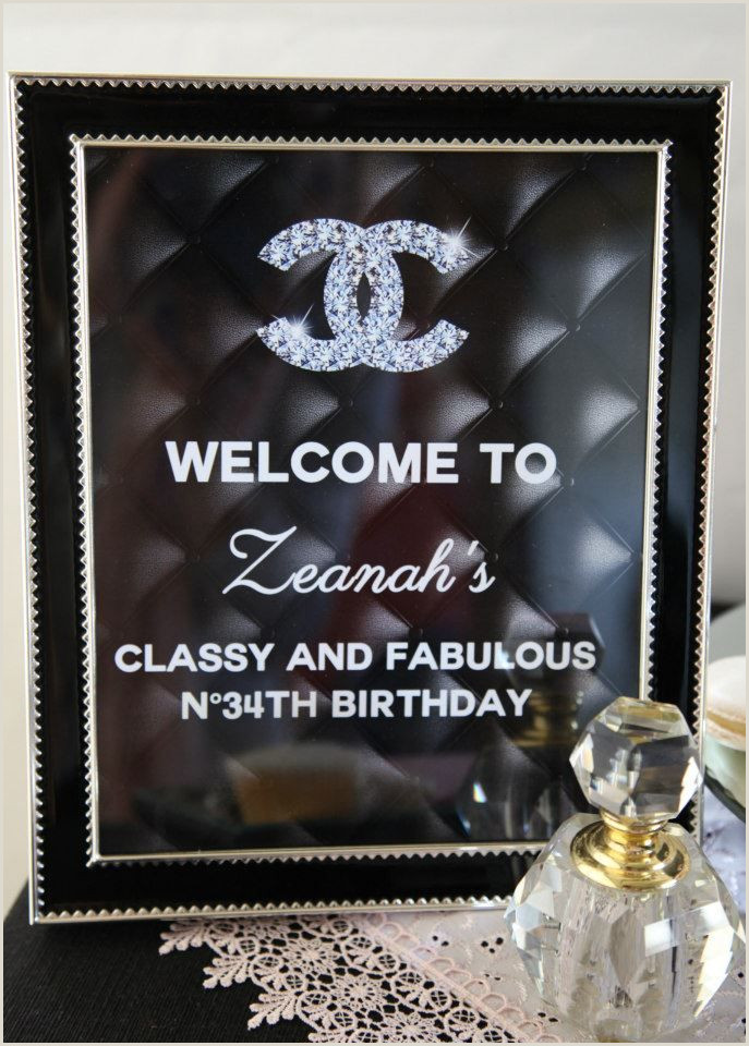 30th Birthday Images Free Download Chanel Inspired Birthday Party 30th Birthday