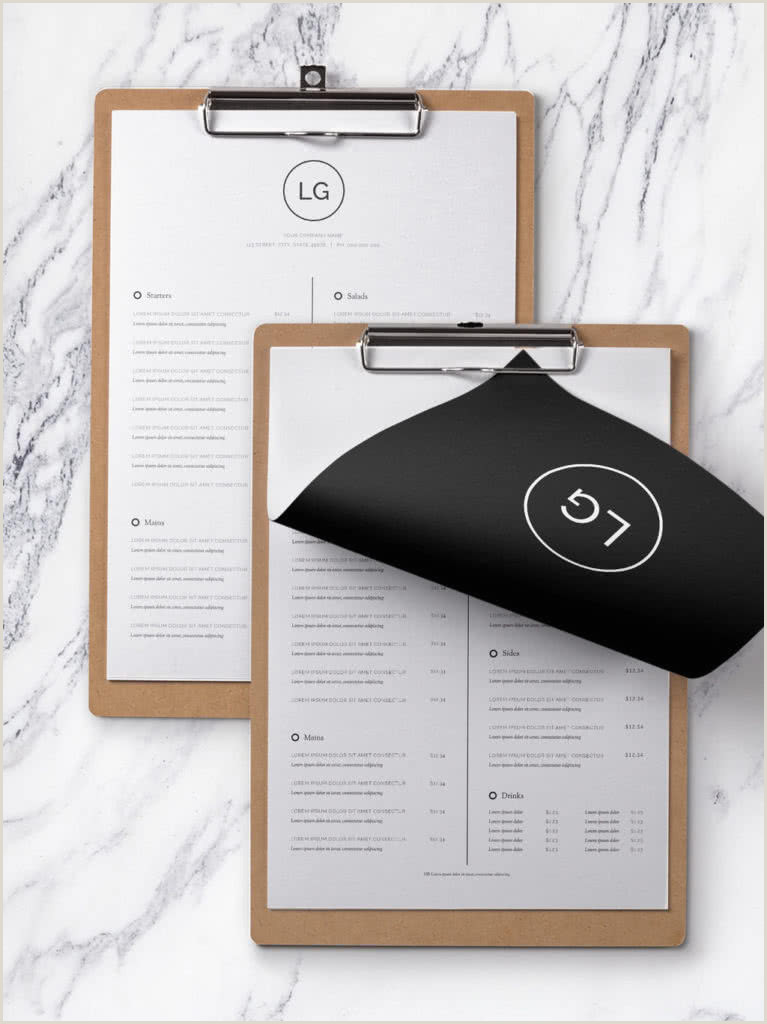 5 Course Meal Menu Template 75 Fresh Indesign Templates and where to Find More