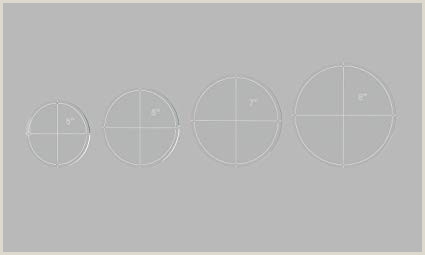 "5 Inch Diameter Circle Template Amazon Circle Quilting Template Set 5"" 6"" 7"" 8"