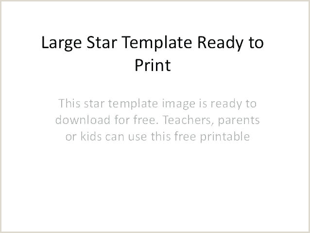 5 Point Star Template Star Template to Print – Hayatussahabah