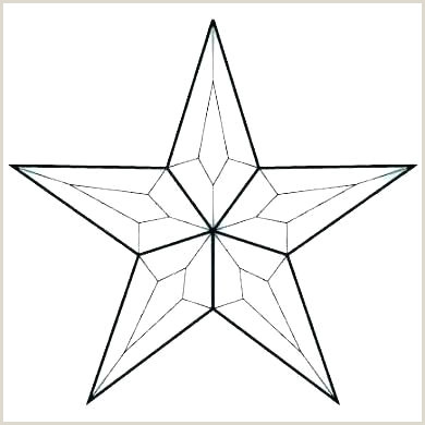 5 Point Star Template to Print 6 Point Star Diagram Template