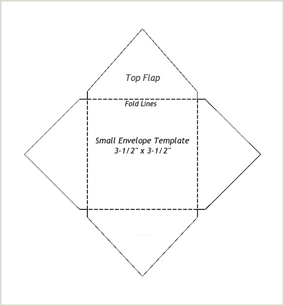 Small Envelope Templates – 9 Free Printable Word PDF PSD