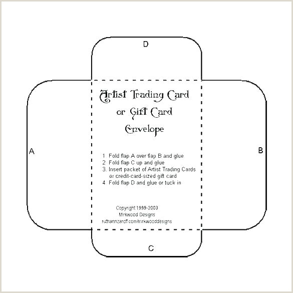 5x7 Folded Card Template for Word Foldable Card Template