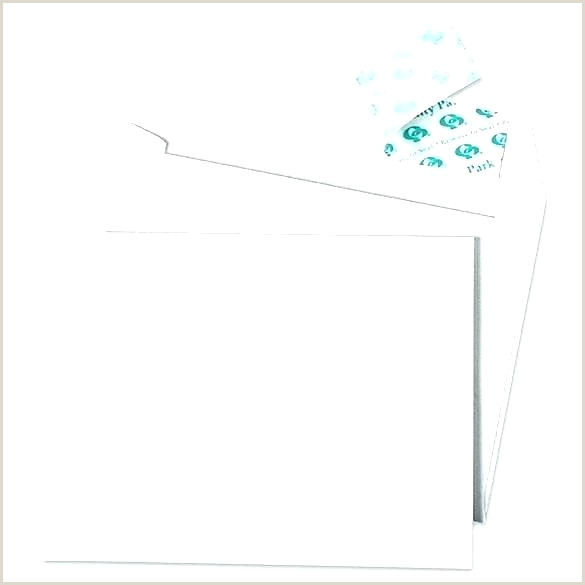 Greeting Card Envelope Template White Envelopes 5—7 Folded