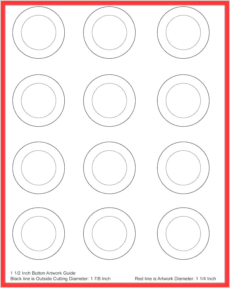7 inch diameter circle template