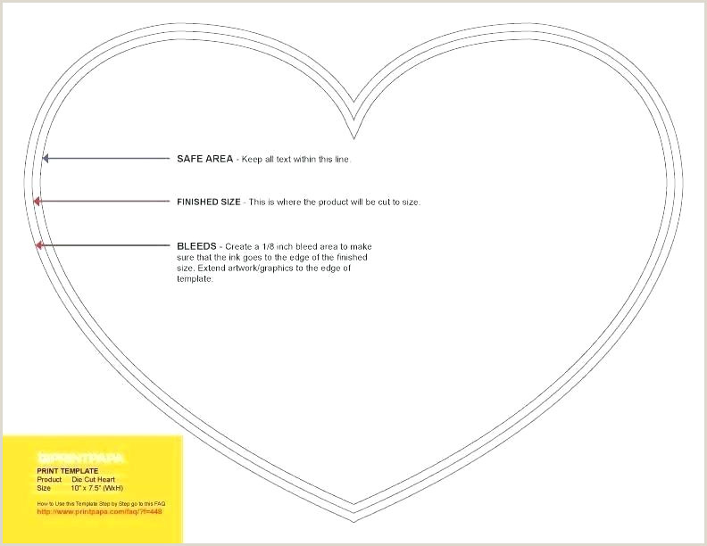 4 Inch Heart Template 5 Printable Small To Print