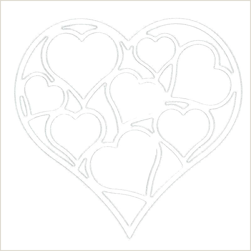 4 Inch Heart Template Printable 8 Star Pattern Use The