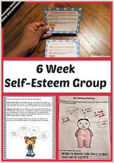 Self Esteem Building Small Group Counseling Lesson Plans and