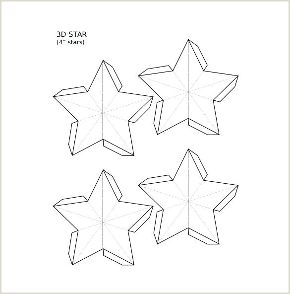 Star Template Download Documents In Vector 3d Box Cardboard