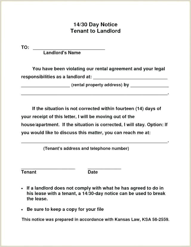 60 Day Apartment Notice Letter Day Notice to Terminate Lease Template 60 Days Landlord