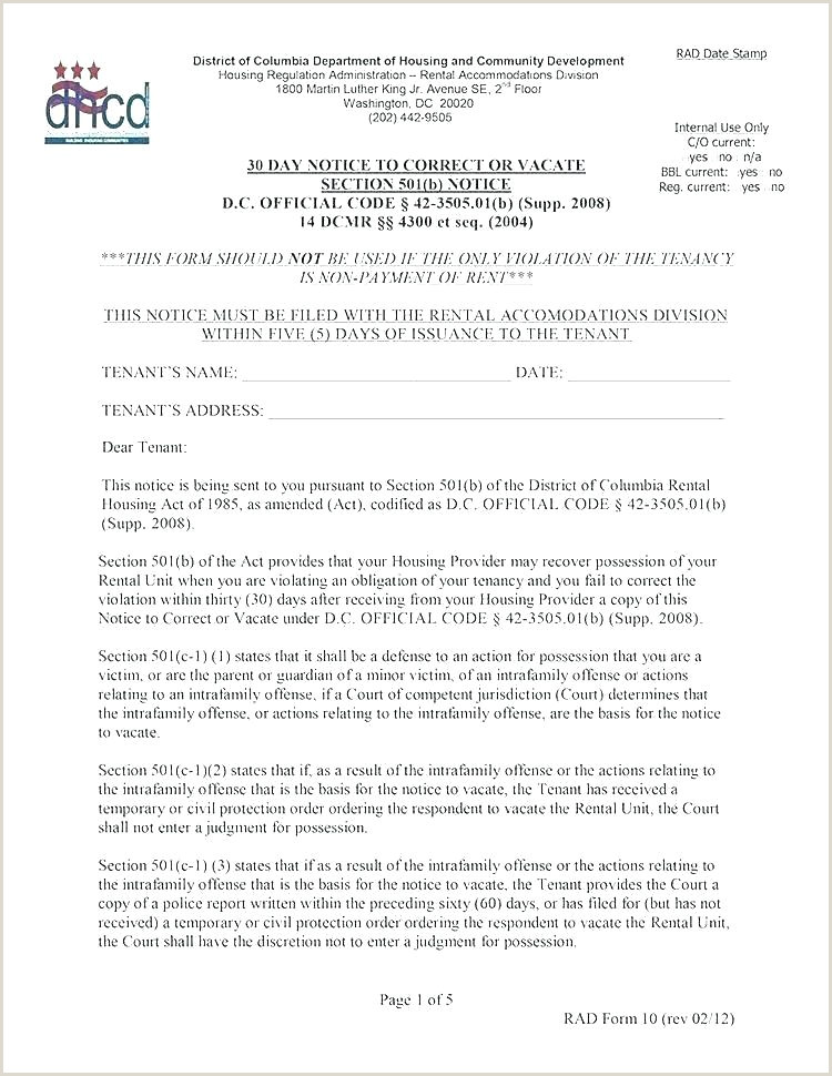60 Day Apartment Notice Letter Section 8 Eviction Notice Template Elegant Quit Notice