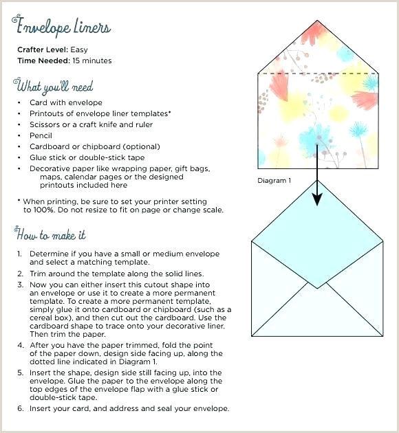 A6 Envelope Liner Template Envelope Liner Template