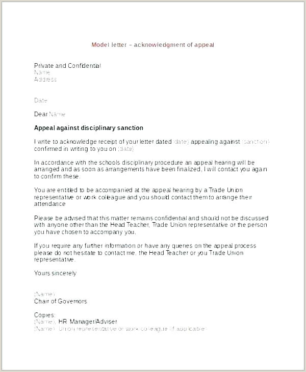 academic dismissal appeal letter template – chanceinc