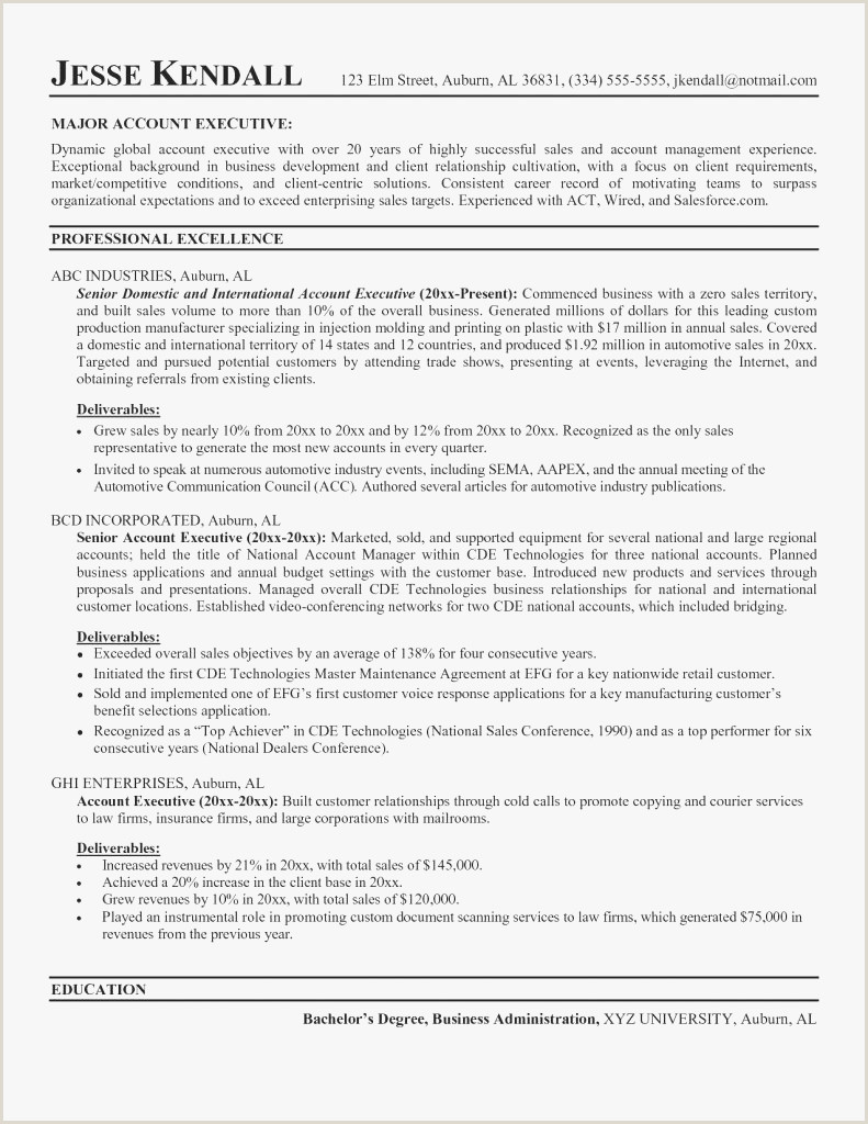 Account Executive Cover Letter Examples Cover Letter Sample