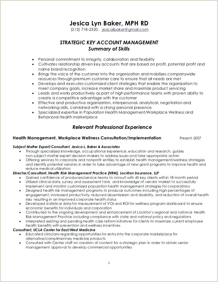 Senior Account Manager Resume Sample Template Key National Cv