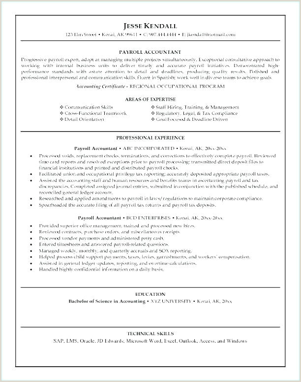 Amazing Accounting Finance Resume Examples Accountant Cv