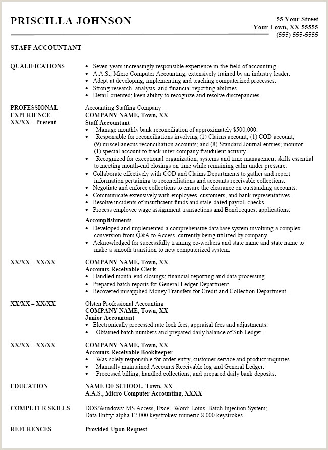 Resume for Accounting Job Inspirational Warehouse Worker