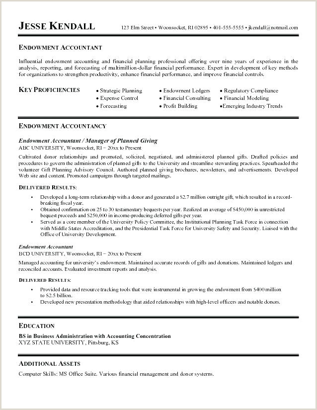 Accounting Resume Templates Doc Free Premium Templates