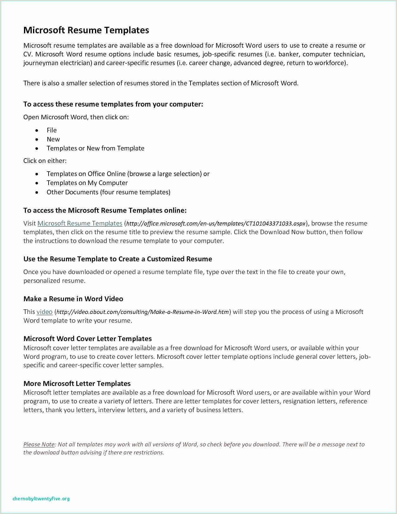 Acting Resume Template for Microsoft Word – Salumguilher