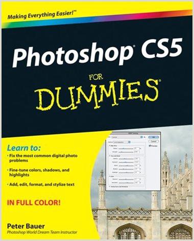 Adb Cv Standard format Shop Cs5 for Dummies