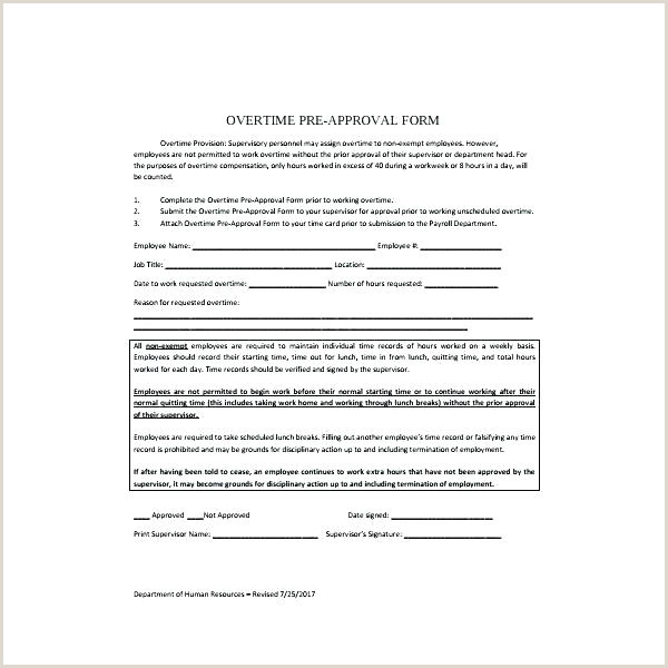 Additional Work Authorization form Work Authorization Template