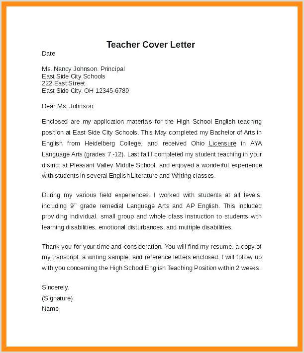 Adjunct Professor Cover Letter No Experience 11 12 English Teacher Cover Letters