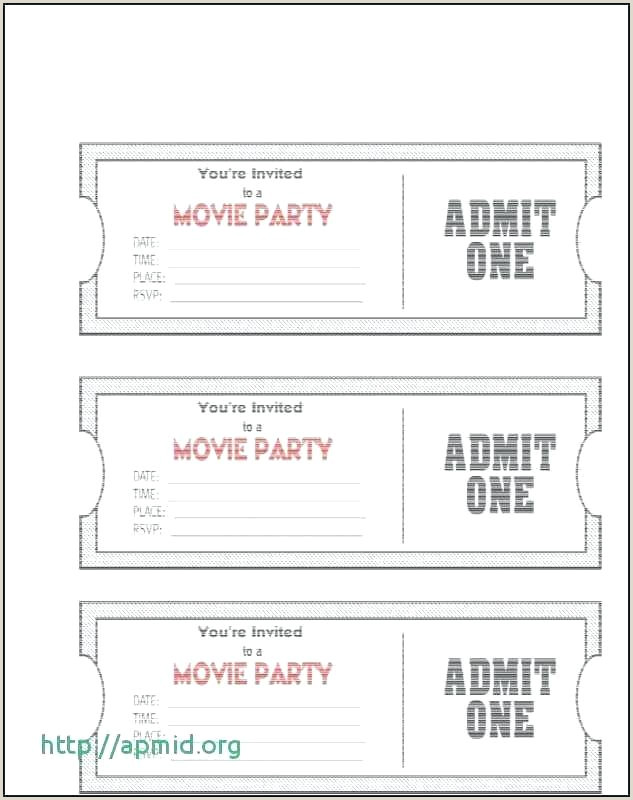 Admission Ticket Template Carnival Ticket Template Blank Admission Free Image