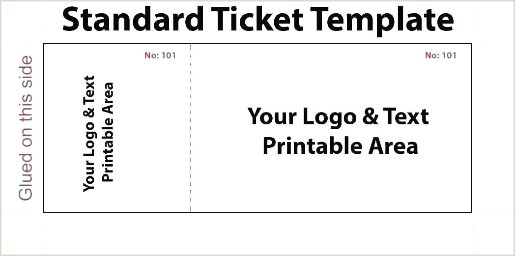 Circus Admission Ticket Template Word Free Download Event