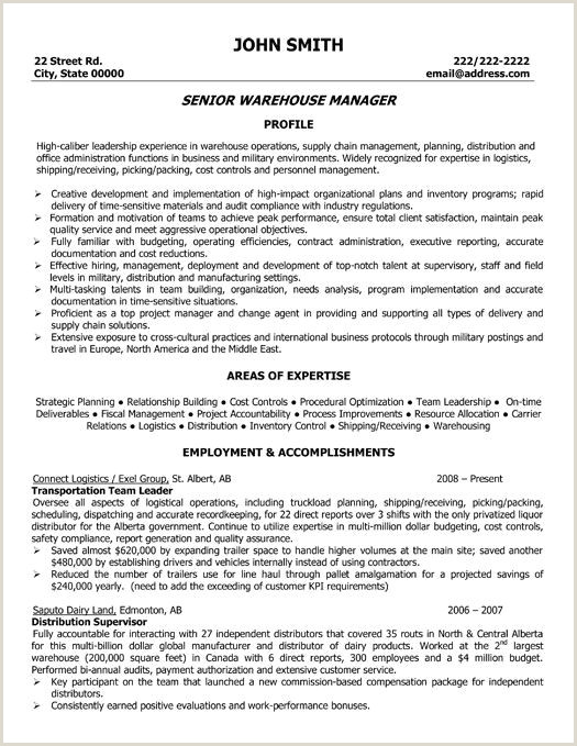 Admissions Coordinator Resume A Resume Template for A Senior Warehouse Manager You Can