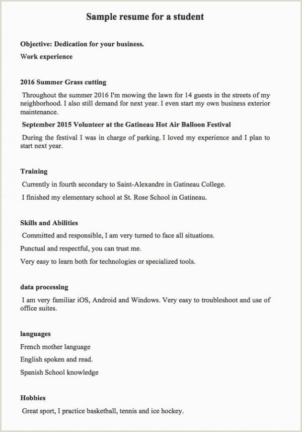 Affiliation Example Resume Sample Resumes 2016 Examples Hobbies In Resume Examples