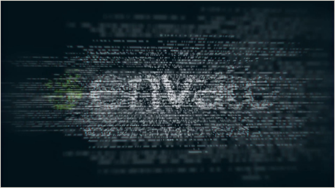 Binary Code Logo After Effects template from Videohive