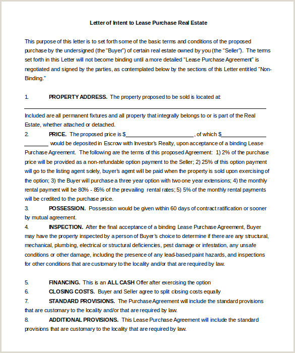 Air Commercial Real Estate form 11 Real Estate Letter Of Intent Templates Pdf Doc