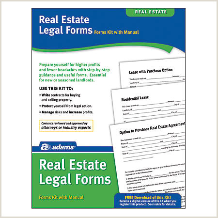 Real Estate Leases & Landlord Forms