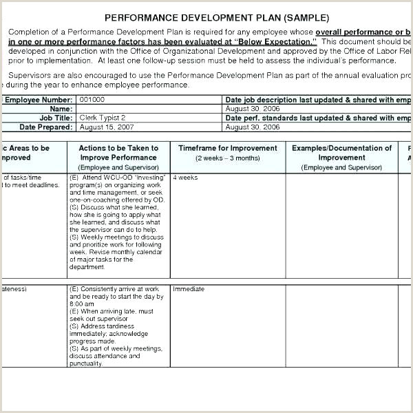 Air force Personal Leadership Development Plan Example Leadership Development Plan the Center for Faculty