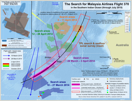 Timeline of Malaysia Airlines Flight 370