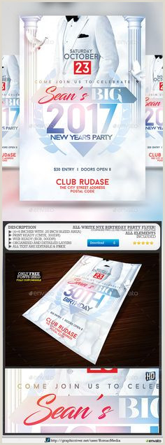737 Best Birthday & Anniversary Flyer Template images in