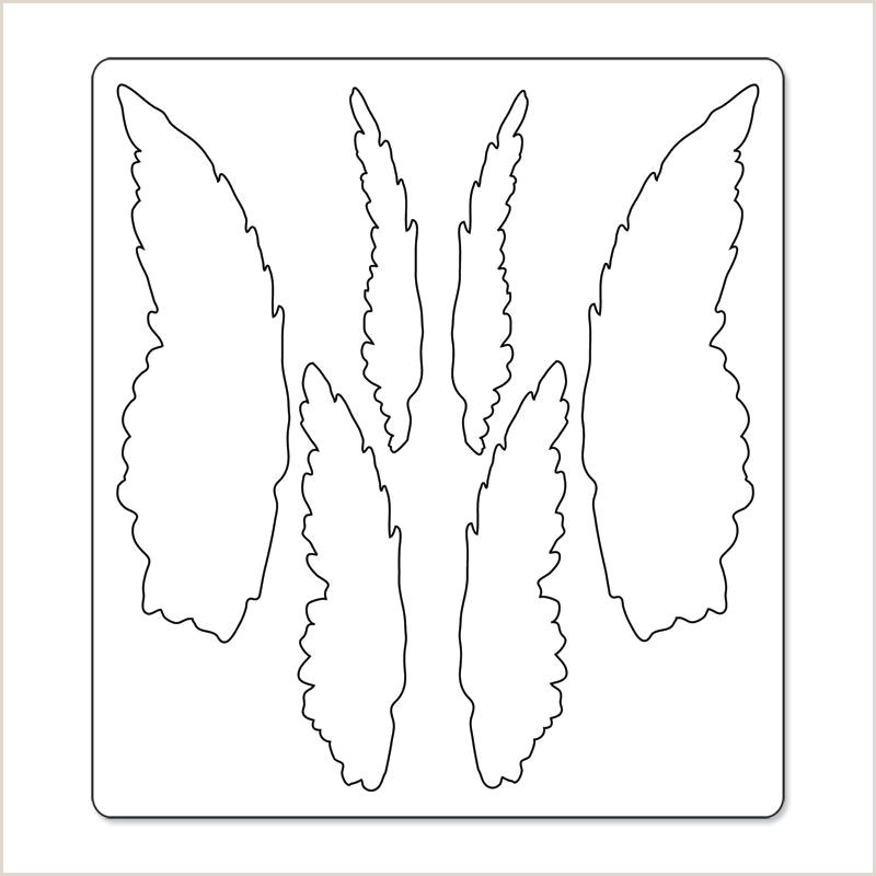 Sizzix Bigz Die Layered Angel Wings crafts