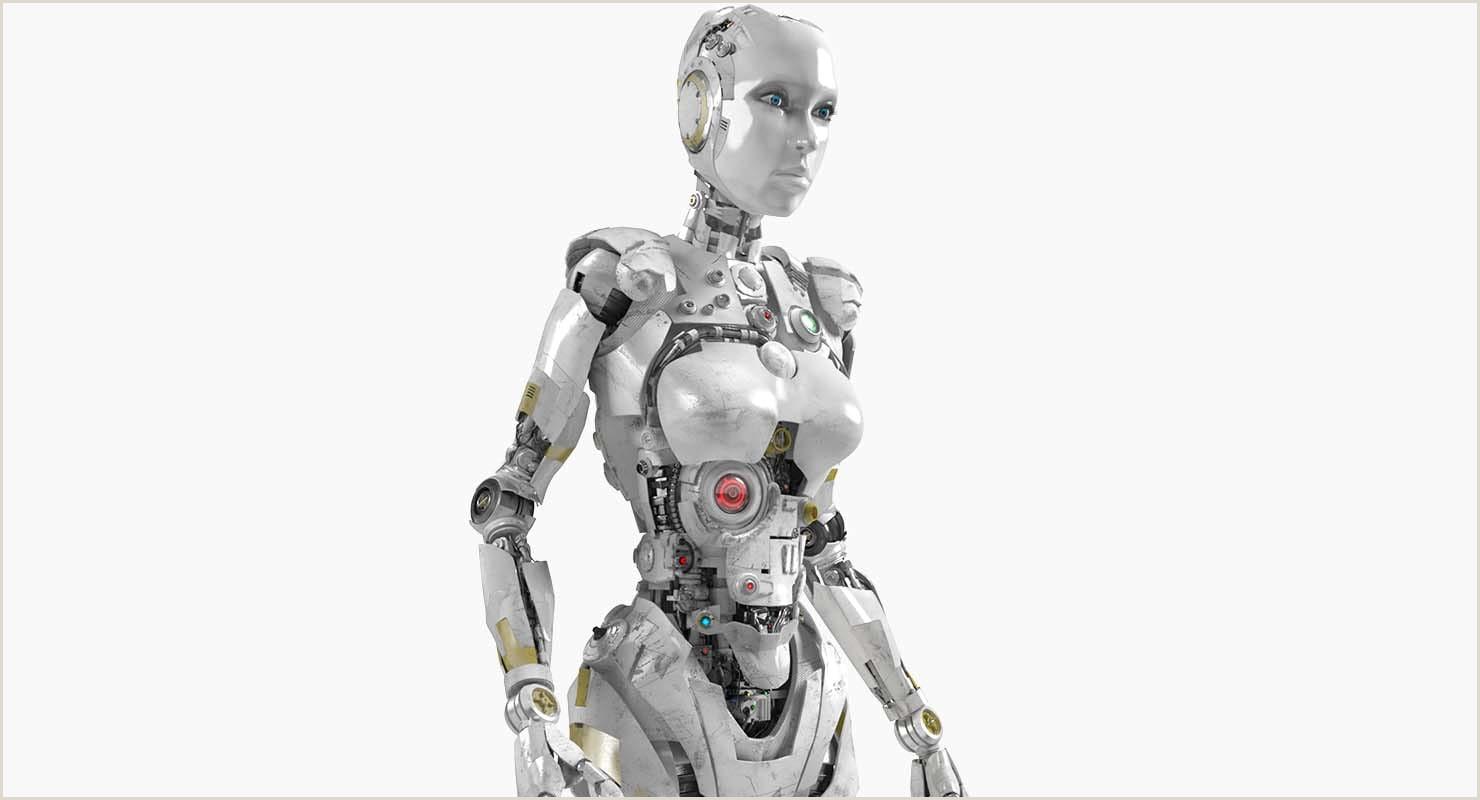 Anime Girl Body Template Robot Femelle