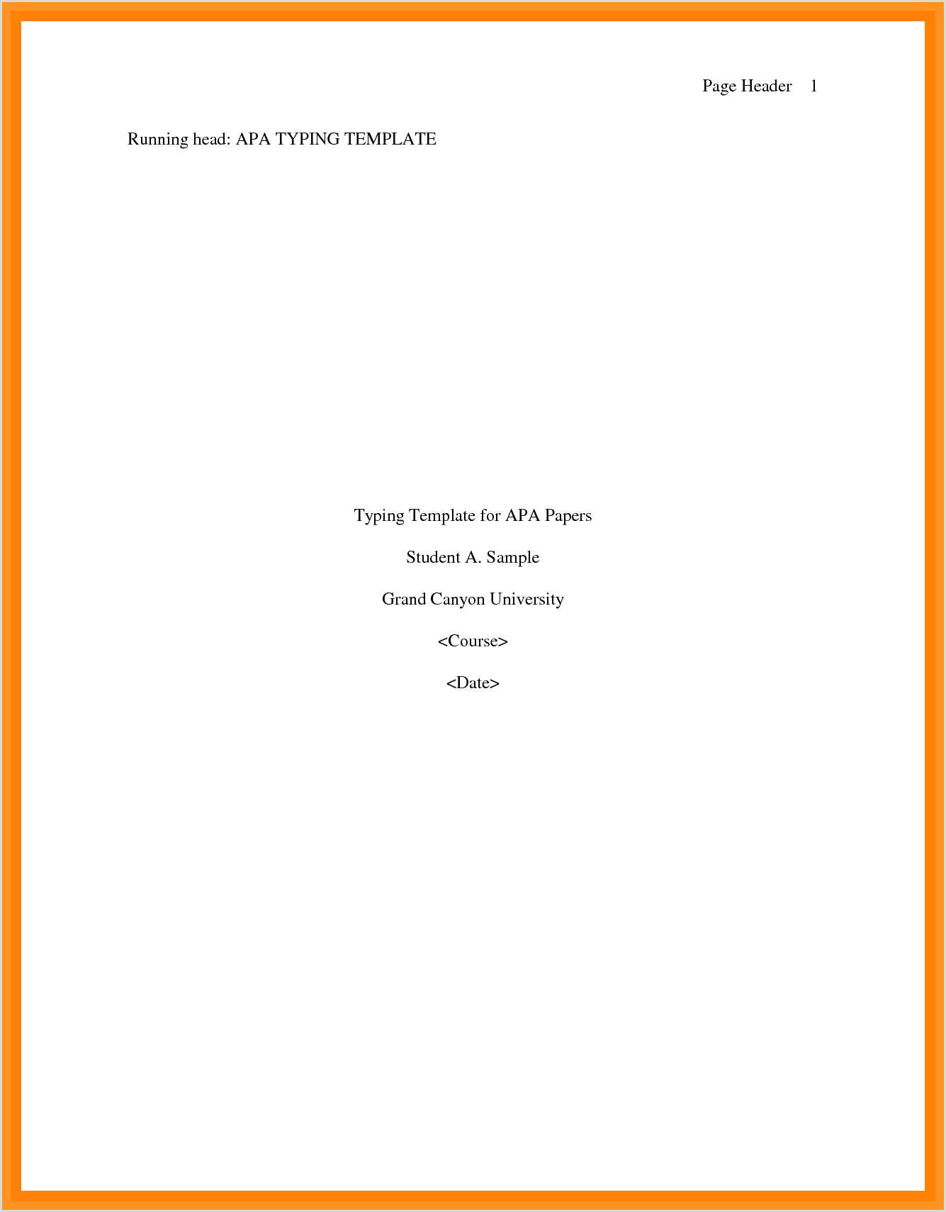 10 cover page format apa
