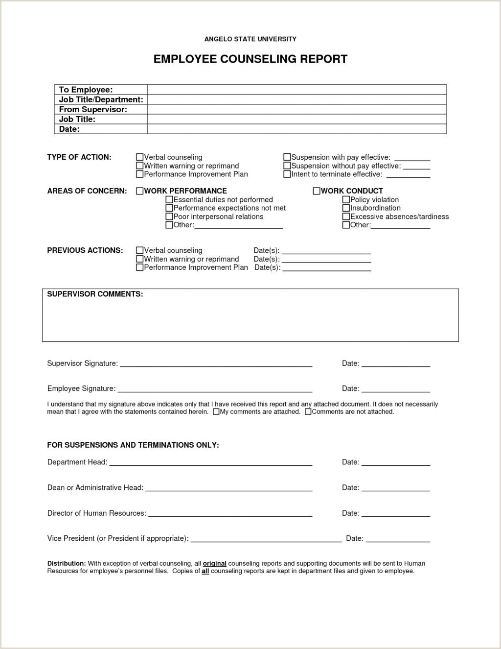 Counseling Form Templates Nco Examples Usmc Pdf Forms line