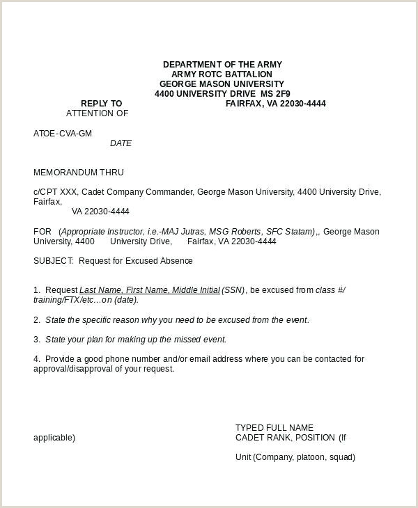 Army Memo for Record Template Example Army Memorandum Memo Template orders Civilian for