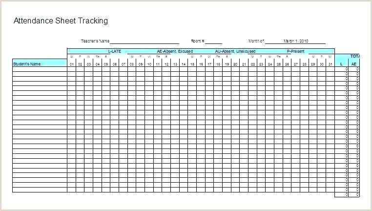 Attendance Sheet for Teachers Printable attendance Sheet Pdf Free Sheets Template for