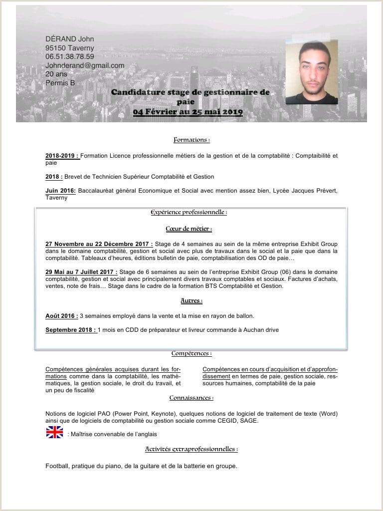 CV John DERAND Fichier PDF