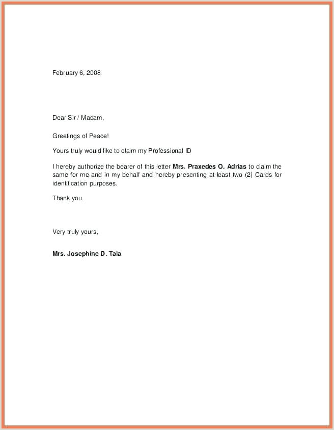 How To Get Brand Authorization Letter Amazon Template 1